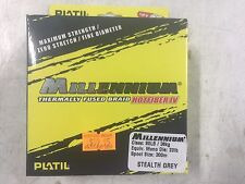 Platil Millennium Hotfiber IV 4 Stealth Grey 80lb 35kg Braided Line Braid