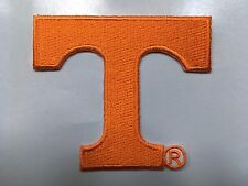 "TENNESSEE VOLUNTEERS VOLS NCAA COLLEGE ""T"" LOGO PATCH   2.75"" wide"
