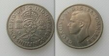 Belle pièce de collection 1947 king george vi deux shilling coin