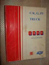 1994 CHEVY C/K G P3 DIESEL TRUCK SHOP MANUAL SUPPLEMENT SERVICE BOOK ORIGINAL