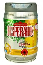 Desperados Bier mit Tequila im 5 Liter Fass Partyfass inkl. Zapfhahn