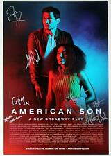 Full Cast Kerry Washington, Jeremy Jordan signed AMERICAN SON Poster