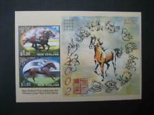 NEW ZEALAND NHM MINIATURE SHEET-2002 CHINESE NEW YEAR SG MS 2476