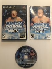 WWE SmackDown Here Comes the Pain (Sony PlayStation 2 PS2) Complete CIB - TESTED