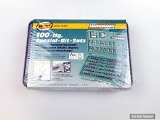 Mannesmann M29800 Bit Set 100-tlg., aus hochwertigem Spezialstahl mit Box, NEU