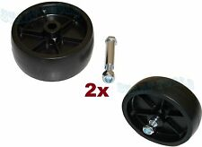 LOT OF 2 Replacement 1200LBS Caster Wheel 4 Trailer Tongue Jacks