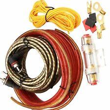 Anschluss Set f. Endstufen Kabelset Verstärker Amplifier Car Auto KFZ hifi Kabel