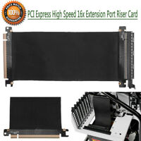 PCI Express 16x Flexible Card Cable Extension Port Adapter High Speed Riser Card