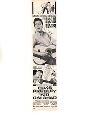 1962 ELVIS PRESLEY AS KID GALAHAD ~ ORIGINAL MAGAZINE AD