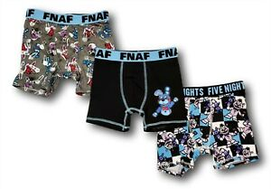 Five Nights at Freddy's 3-Pack Boxer Briefs for Boys Sister Location Small 6