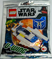 ORIGINAL LEGO STAR WARS LIMITED EDITION Foil Pack U WING 911946  - New, Sealed
