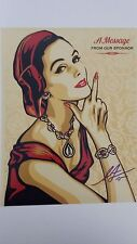 SHEPARD FAIREY signed 11x14 photo - Proof