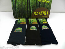3 Pares de calcetines socks finos bambú sin puño no aprietan,remallado a mano