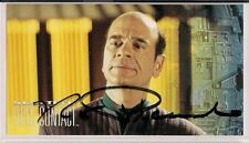 Star Trek Signed Card Auto Autograph First Contact Robert Picardo Doctor v142