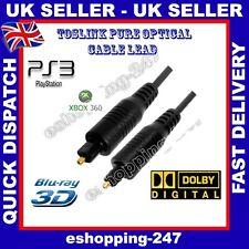 3m óptico Macho Hd Toslink Interruptor Selector Divisor 5.1 Dvd Ps3 Hifi Cable B016