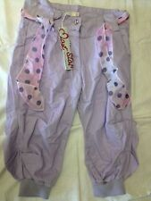 Mast Star - pantaloni viola chiaro -taglia 13/14 anni - 100% cotone - Nuovi