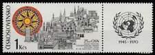Tjechoslowakije postfris 1970 MNH 1945 - UN 25 Jaar