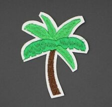 "PALMTREE PATCH, EMBROIDERED PALMTREE PATCH PALM TREE APPLIQUE 3""x2.375"" (PT-324)"