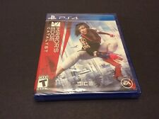 Mirror's Edge Catalyst PS4 Sony PlayStation 4 Brand New Factory Sealed