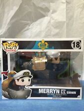 FUNKO POP RIDES 18 Merryn SS Eirnin Song Of The Deep Chase VINYL FIGURE GAMESTOP