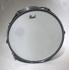 """Pearl SS Steel Shell 13"""" Snare Drum Chrome Serial #20079239"""