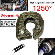 T3 T25 T28 GT25 GT35 Titanium Turbo/Turbo charger Heat Shield Blanket Cover Wrap