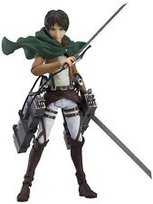 Figma 207 Attack on Titan Eren Yeager Figure From JAPAN