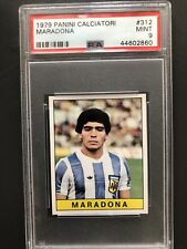 1979 Panini Maradona Rc Psa 9, One of Sport Goats. Holy Grail, Pop of 9!