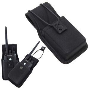 Universal Nylon Radio Case Holder Holster Pouch Bag for Radios Walkie Talkie  CD