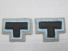 WW2  AIF 2/23rd battlion Tobruk colour patchs x1 pair =2
