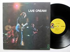 CREAM Live Cream LP Atco Record Club Press ERIC Clapton  sm1239