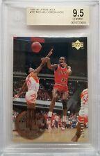 Michael Jordan 1995-96 Upper Deck Rookie Years BGS 9.5 Gem Mint Graded Card #137