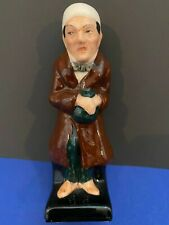 Vintage Royal Doulton Scrooge Figure Made in England Vg Condition No Issues