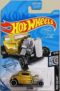 Hot Wheels '32 Ford Gold