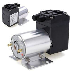 DC12V Mini Vacuum Pump Negative Pressure Suction Pump 5L/min 65kpa With Holder