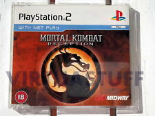 Mortal Kombat, Deception, promo, NFR, Playstation2, PS2, EURO, Nuovo, brand new!