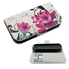 Stand Style Phone Leather Cover Case Pouch Skin For Samsung Galaxy S Duos S7562