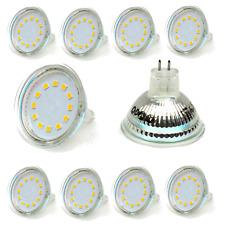 10x LED MR16 12V 3 Watt Licht Leuchte Spot Strahler Lampe Warmweiß SMD *N11