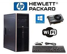 Intel i7 Gaming Desktop Computer PC Quad-Core GeForce GTX 1060 Windows 10 HDMI