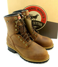IRISH SETTER Mesabi Size 10.5 D Safety Toe Waterproof Men's Work Boots MSRP $150