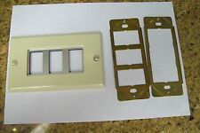 2 GE REMOTE CONTROL SW.  PLATES  FOR RR7  RR9  SYS--