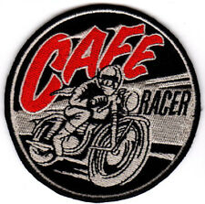 CAFE RACER MOTORCYCLES EMBROIDERED IRON ON PATCH 59 ton up boys british biker