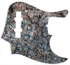 J Bass Pickguard Custom Fender Graphic Graphical Guitar Pick Guard Rock Face