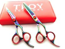 Professional Hair Cutting & Thinning Scissors Barber Shears Hairdressing Set 6""