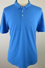 Men's Emporio Armani Royal Blue Short Sleeved Polo Shirt XXL 3XL RRP £90