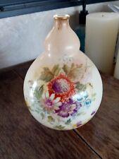 Royal Bonn Austria Gourd Shaped Pencil Neck Flower Vase