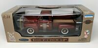 Road Legends - 1948 Red Ford F1 Pick Up Truck - 50th Anniversary - 1:18 - New