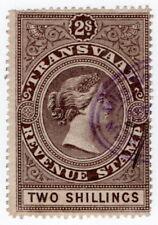 (I.B) Transvaal Revenue : Duty Stamp 2/-