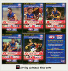 2001 Teamcoach Trading Cards Promotion Team Set Western Bulldogs (6)