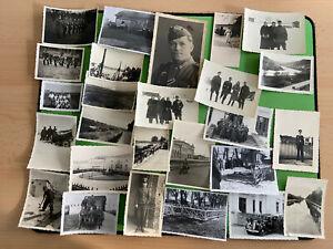 26 x Foto im Konvolut, Wk2, Soldaten im zweiten Weltkrieg (77777)532